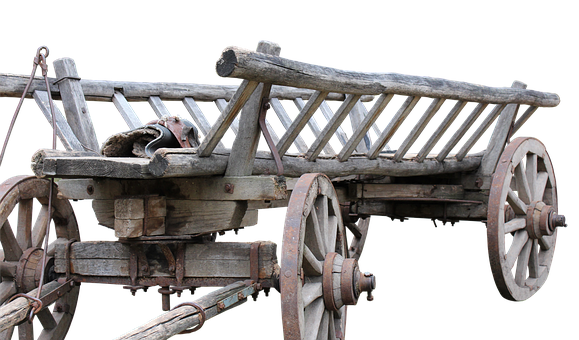 Dare, Cart, Wheels, Wood, Old, Middle Ages, Hay Wagon