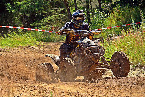Motocross, Quad, Atv, Cross, Motorcycle, Race