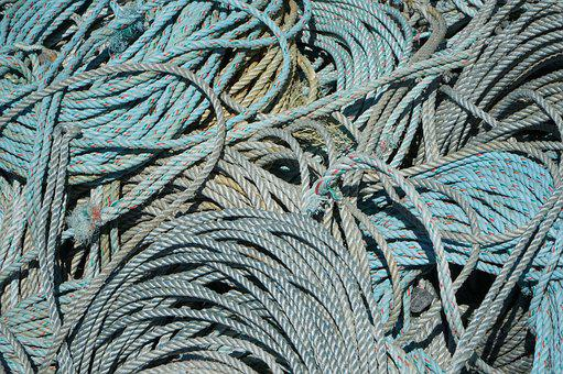 Commercial, Fishing, Rope, Industry, Sea, Fish