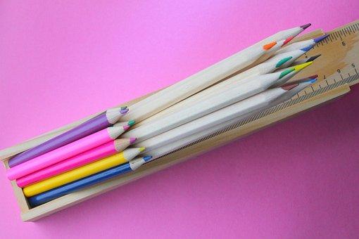 Pencils, Coloured, Draw, Sketch, Art, Color