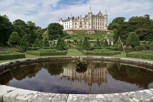 Scotland, Dunrobin Castle, Castle