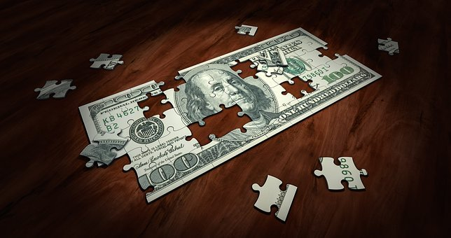 Puzzle, Money, Business, Finance, Solution, Success