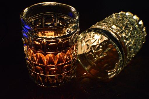 City, Night, Bar, Liquor, Drink, Alcohol, Glass
