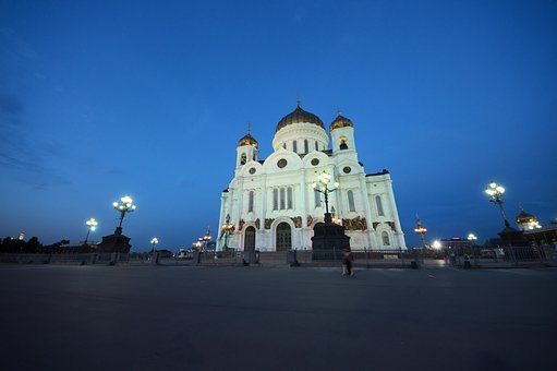 Moscow, Church, Russia, Dome, Historically
