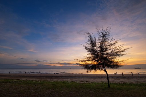 Morning, Prachuap Khiri Khan, Seashore