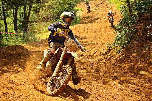 Motocross, Enduro, Motocross Ride, Motorcycle Sport