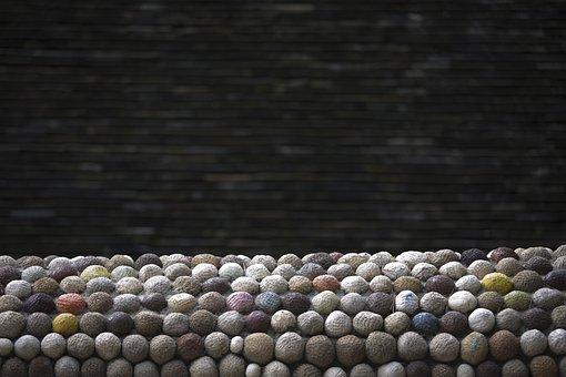 Background, Texture, Stone, Pattern, Circle, Interior