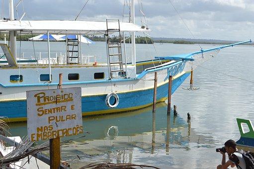 Photo, Fotógrafago, Vessel, Catamaran, Boat