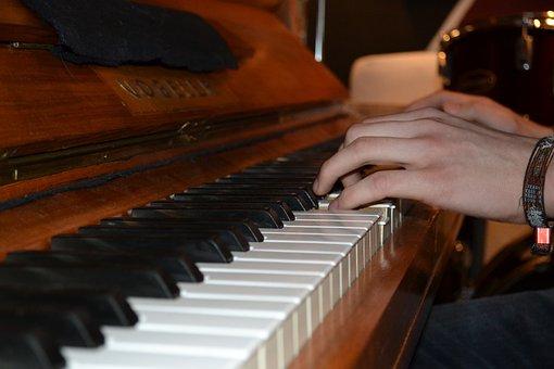 Piano, Hands, Piano Keys, Music, Instrument