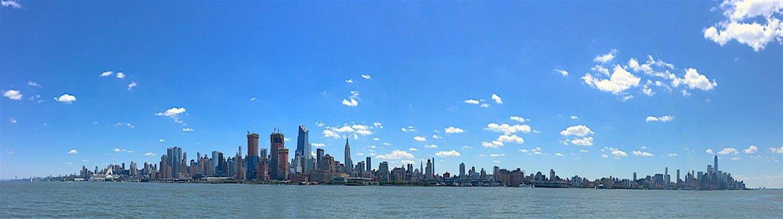 New York City, Hudson River, Skyline, Urban, Landscape