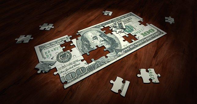Puzzle, Money, Business, Finance, Solution, Success