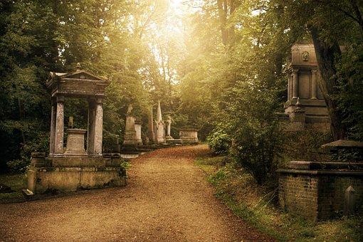 Graveyard, Cemetery, Grave, Death, Tombstone, Cross