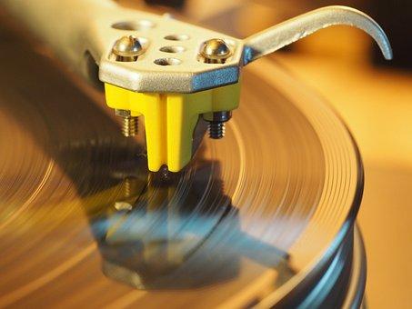 Turntable, Vinyl, Analog, Music, Hifi, Needle, Plate