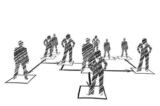 Hierarchy, Human, Man, Woman, Organization
