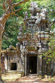 Angkor Wat, Cambodia, Asia, Temple Complex, Angkor
