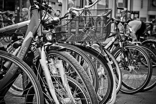 Bike, Wheel, Cycling, Bicycles, Transport, Turned Off