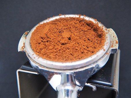 Portafilter, Coffee, Ground, Coffee Ground