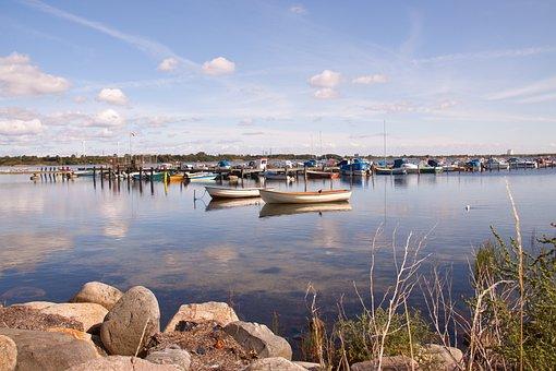 Hvidovre, Harbour, Boats, Denmark, Danish, Nordic, Sea