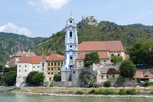 Dürnstein, Wachau, Danube, Ruin, Landscape, Burgruine