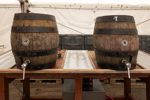 Barrel, Beer Keg, Beer, Wood, Brewery, Drink, Festival