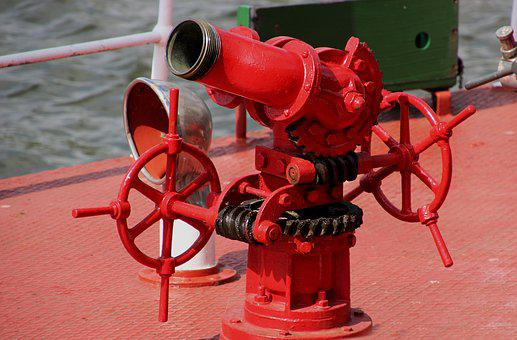 Fire Hose, Pump, Water, Fire, Equipment, Hose