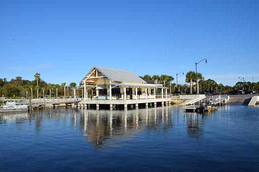 Marina, Lake Toho, Kissimmee, Florida, Bait Shop