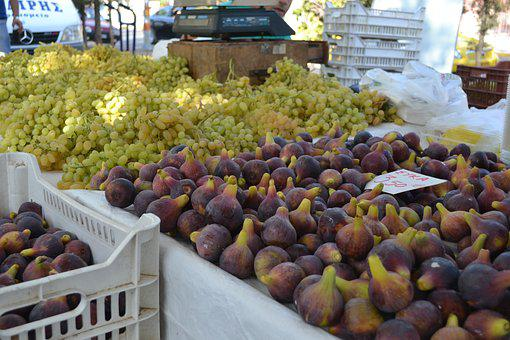 Figs, Grapes, It's A Farmer's Market