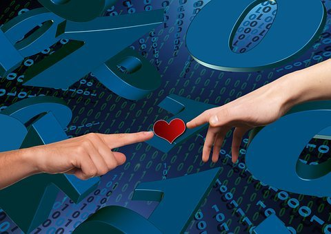 Matrix, Heart, Love, Communication, Software, Pc, Virus