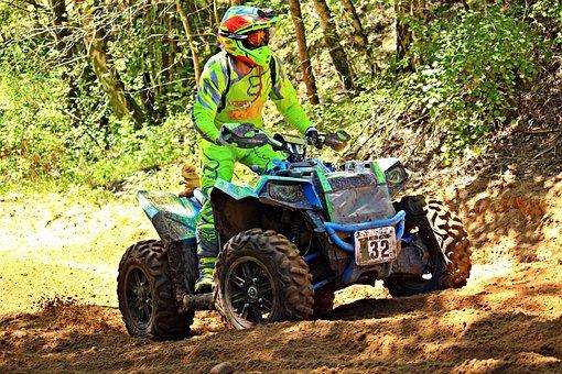 Motorsport, Quad, Atv, Enduro, Quad Race, Motocross