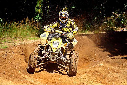 Quad Race, Motocross, Quad, Sand, Motorsport, Enduro