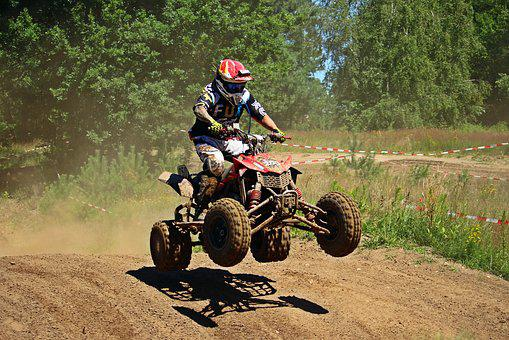 Motocross, Quad, Atv, Motorcycle Sport, Race