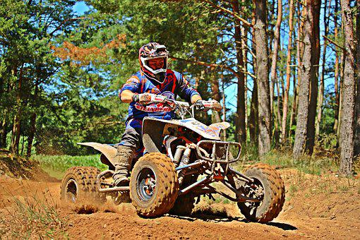 Atv, Quad, Motocross, All-terrain Vehicle, Cross, Race