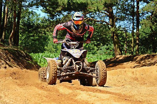 Quad, Enduro, Motorcycle, Race, Atv, Motocross, Cross