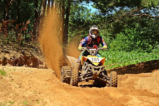 Quad, Motorcycle Sport, Motocross, Cross, Enduro