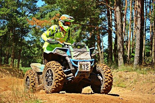 Motocross, Quad, Atv, Enduro, Quad Race, Racing, Cross
