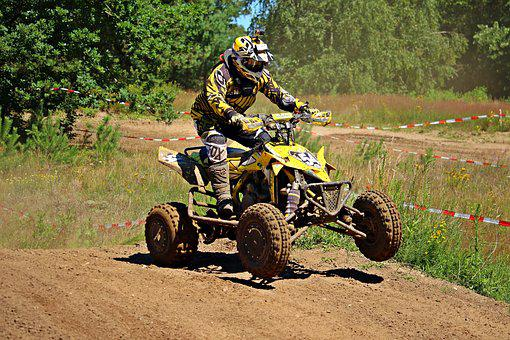 Enduro, Quad, Atv, Quad Race, Motorcycle Sport