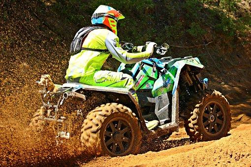 Quad, Atv, Enduro, Motocross, Quad Race, Motorcycle