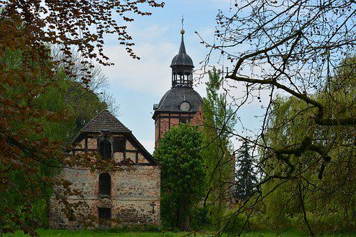 Architecture, Religion, Taufengel, Osterburg, Church