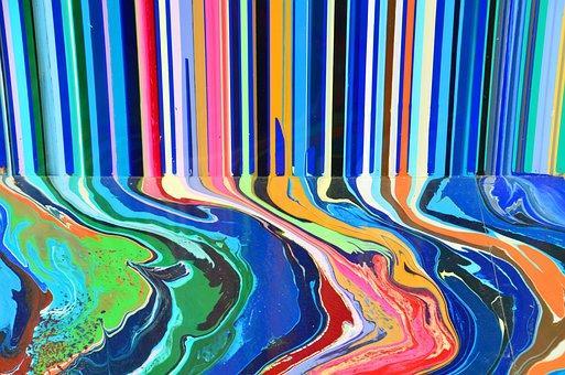 Color, Run, Colorful, Art, Art Installation