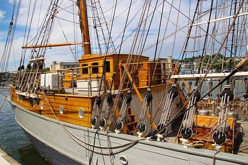 Ship, Sailing Boat, Sail Boat, Boat, Sea, Sail, Yacht