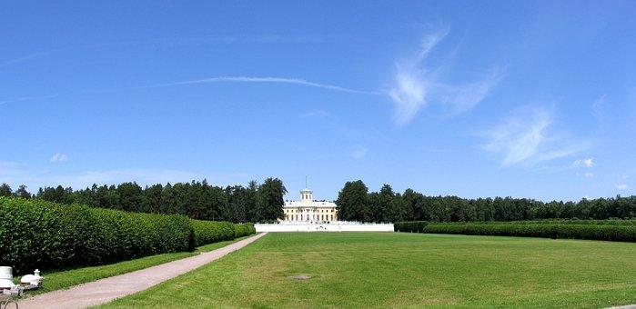 Arkhangelsk, Park, Sky, Landscape