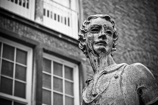 Statue, Bust, Sculpture, Stone Figure, Art, Figure