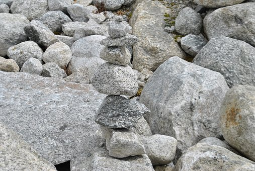 Stones, Cairn, Grey, Smart, Each Other, Pyramid