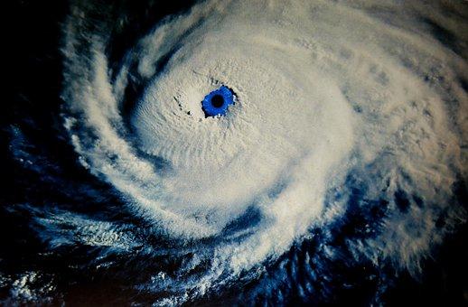 Hurricane, Eye, The Eye Of The Hurricane, Weather