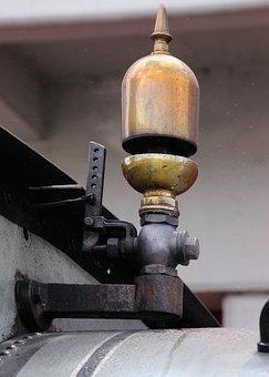 Train Whistle, Steam, Sound, Whistle, Vintage, Valve