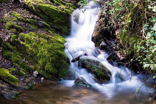 Waterfall, Water, Nature, Waterfalls, River