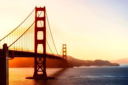 Golden Gate Bridge, San Francisco, California, Bay