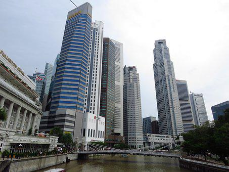 Singapore, Building, City Hall, Raffles Place, City
