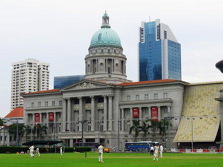 Singapore, National Gallery, Building, City Hall