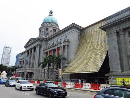 Singapore, Building, National Gallery, City Hall